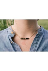Necklace - Betty Horn Gold