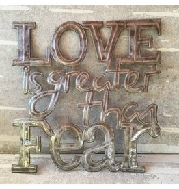Wall Hanging - Love is Greater