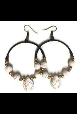 Earrings - Looped Winter Thailand