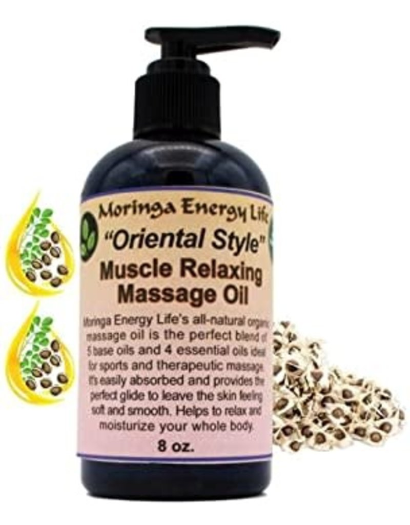 Moringa Massage Oil - 8oz