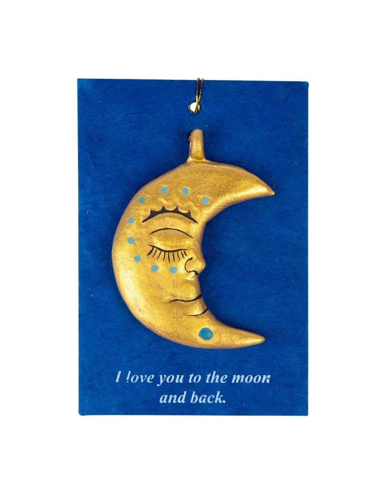Ornament - Moon & Back