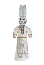 Bunny Boy - Stuffed Cotton Doll Cream/Multi Color