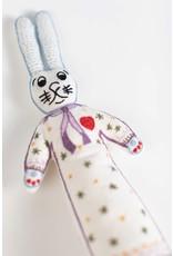 Bunny Girl - Stuffed Cotton Doll Cream/Multi Color
