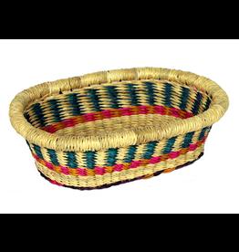 Mini Tray, Ghana woven grass