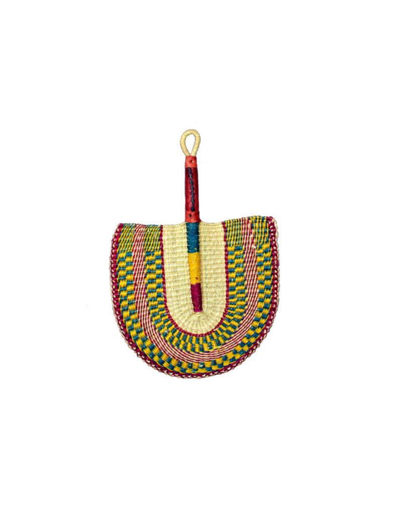 Fan, Ghana Woven Grass