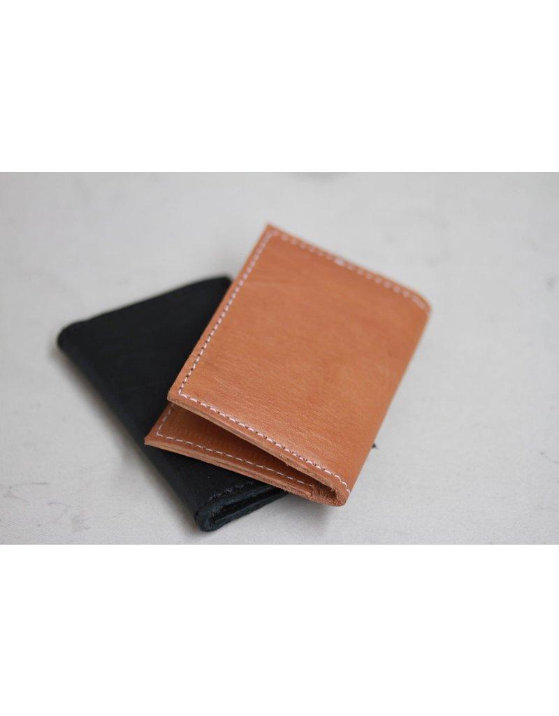 Card Holder - Leather Caramel