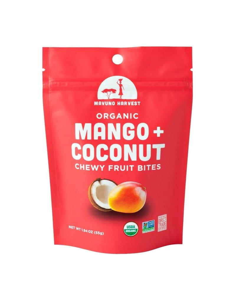 Mavuno Harvest Organic Mango & Coconut Fruit Bites