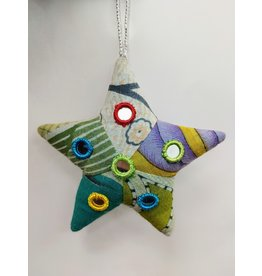Ornament - Patchwork Shisha Star