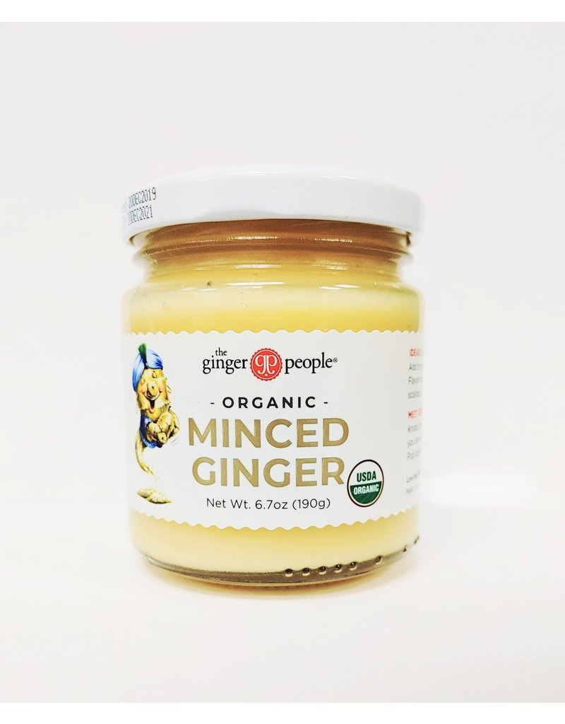 Minced Ginger - Organic