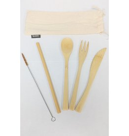 Bamboo Reusable Utensils