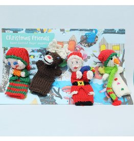 Finger Puppets - Christmas Friends, Organic Cotton