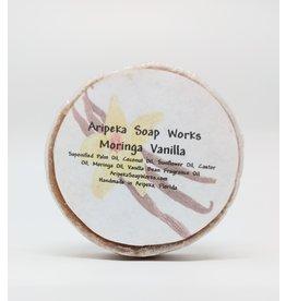 Soap - Moringa Vanilla, round