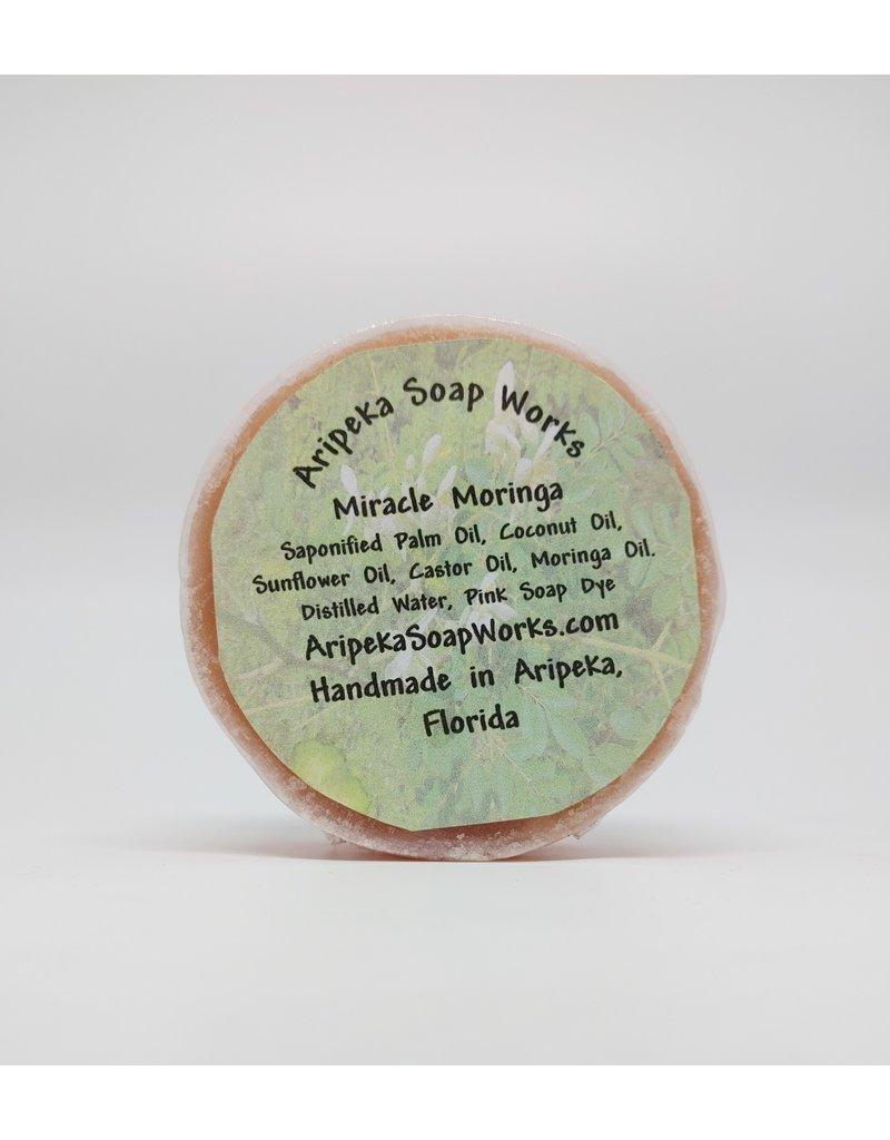 Soap - Miracle Moringa, round