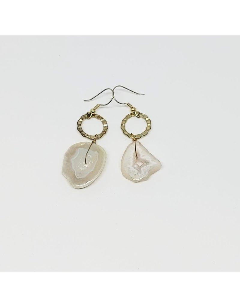 Earrings - Geode