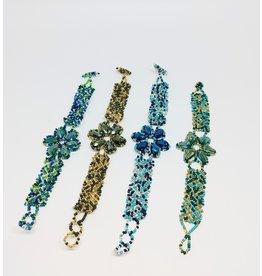 Bracelet - Crystal Petals
