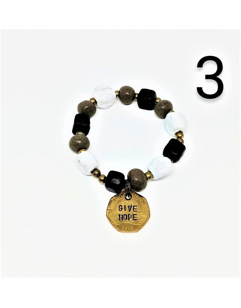 Bracelet - Inspirational Coin Assortment