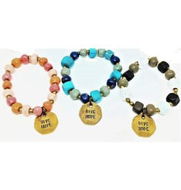 Bracelet - Inspirational Coin Assortment