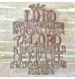 Wall Hanging - The Lord is My Light