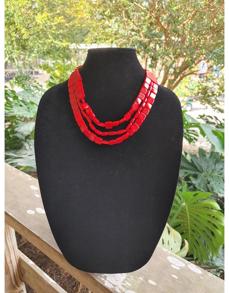Necklace - Claret