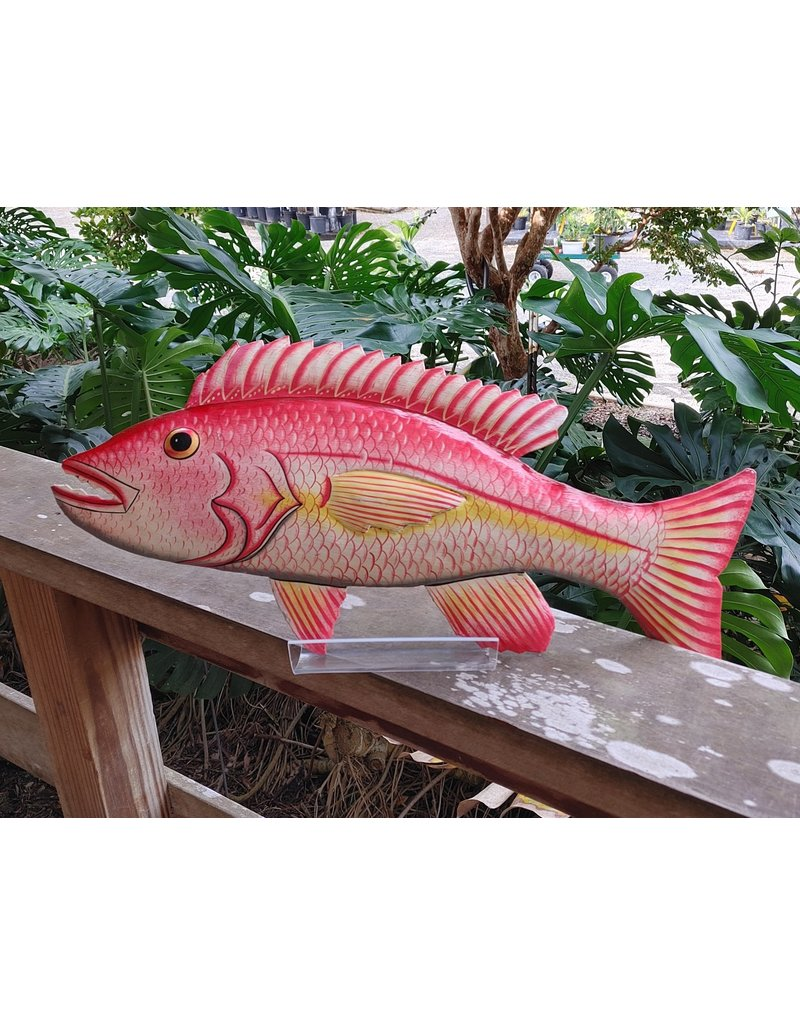 Painted Metal Fish, Large - Haiti
