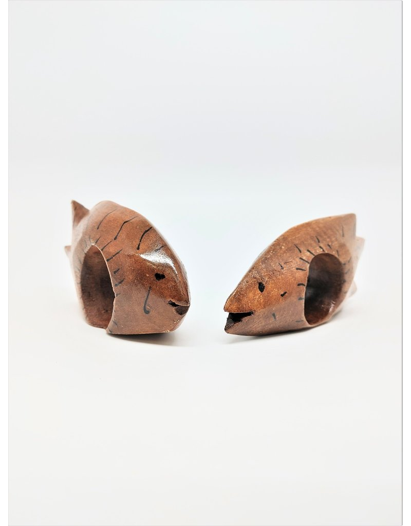 Napkin Rings, Natural Fish (2) - Haiti