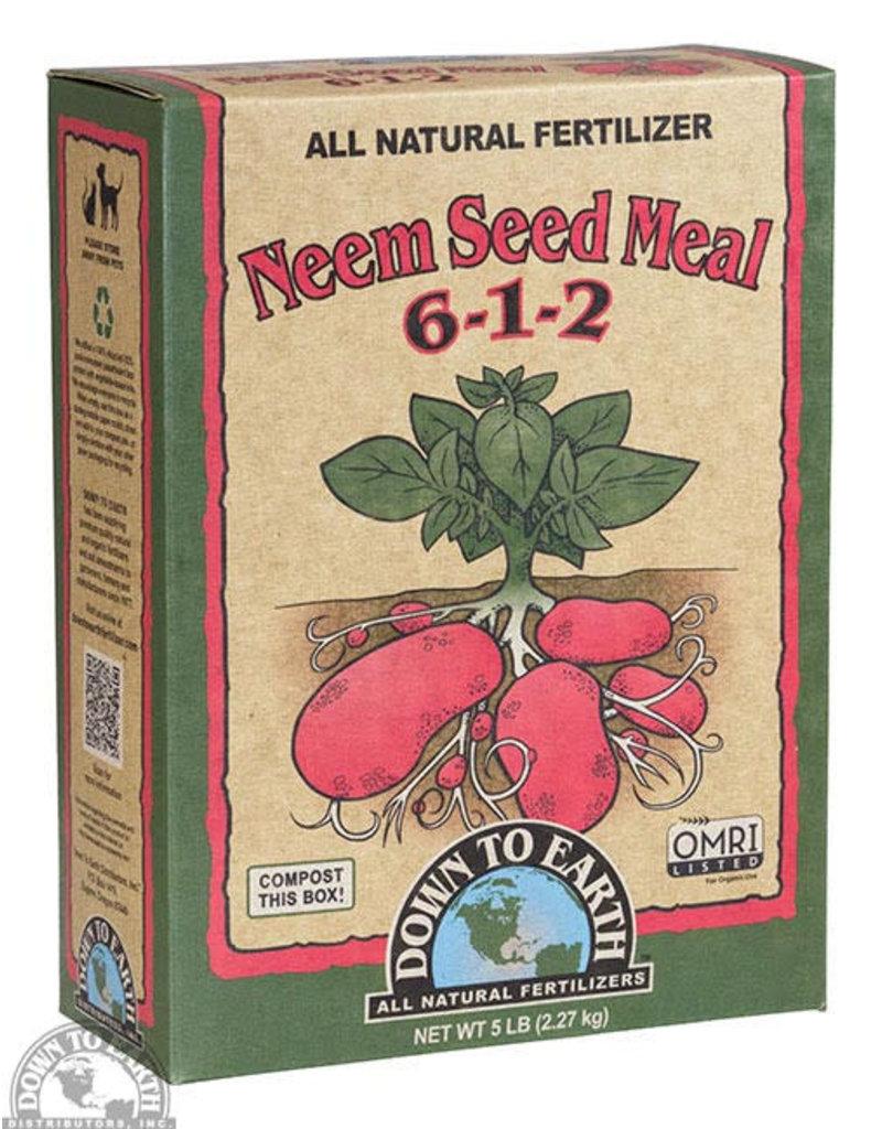 Neem Seed Meal 6-1-2 5lb