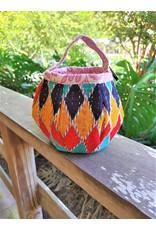 Basket - Recycled Sari Easter
