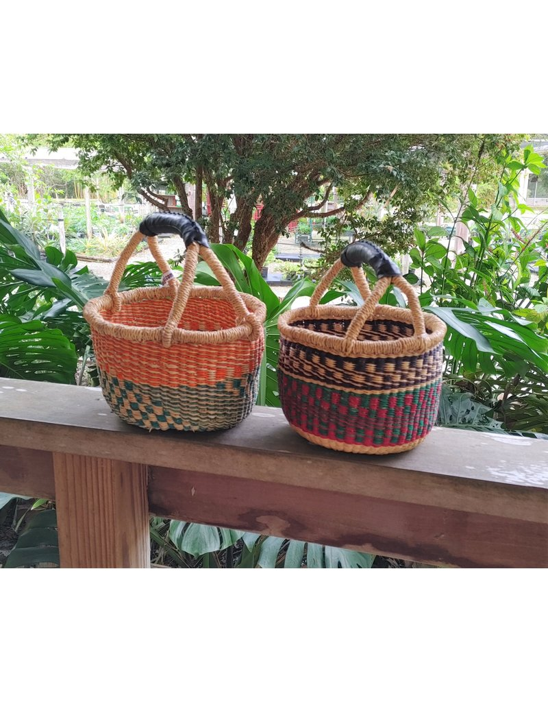 Mini Basket with Recycled Rubber Handle