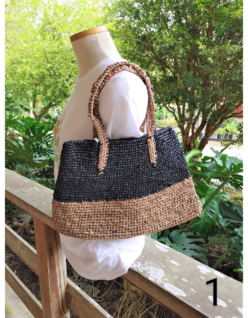 """Plarn"" Bag, Large Tote- Haiti"
