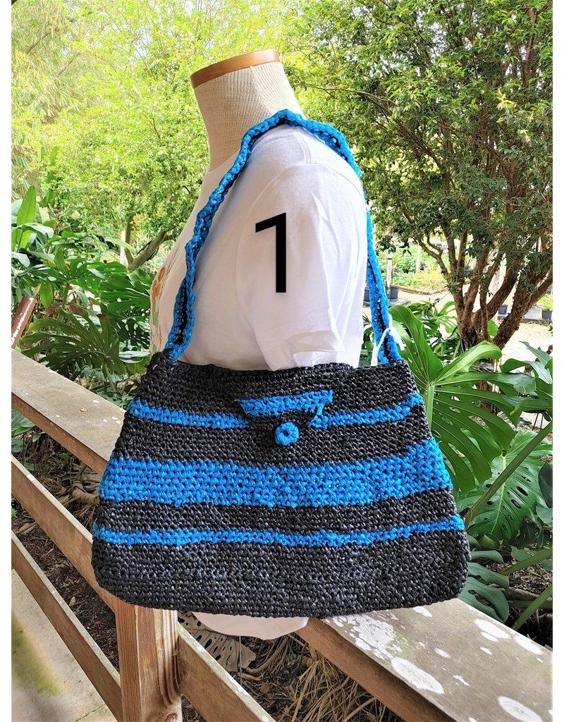 """""""Plarn"""" Bag, Large Purse - Haiti"""