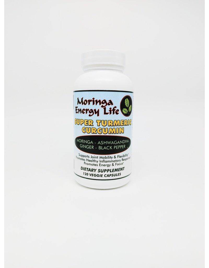 Super Turmeric Curcumin Moringa Capsules, 120 count Organic