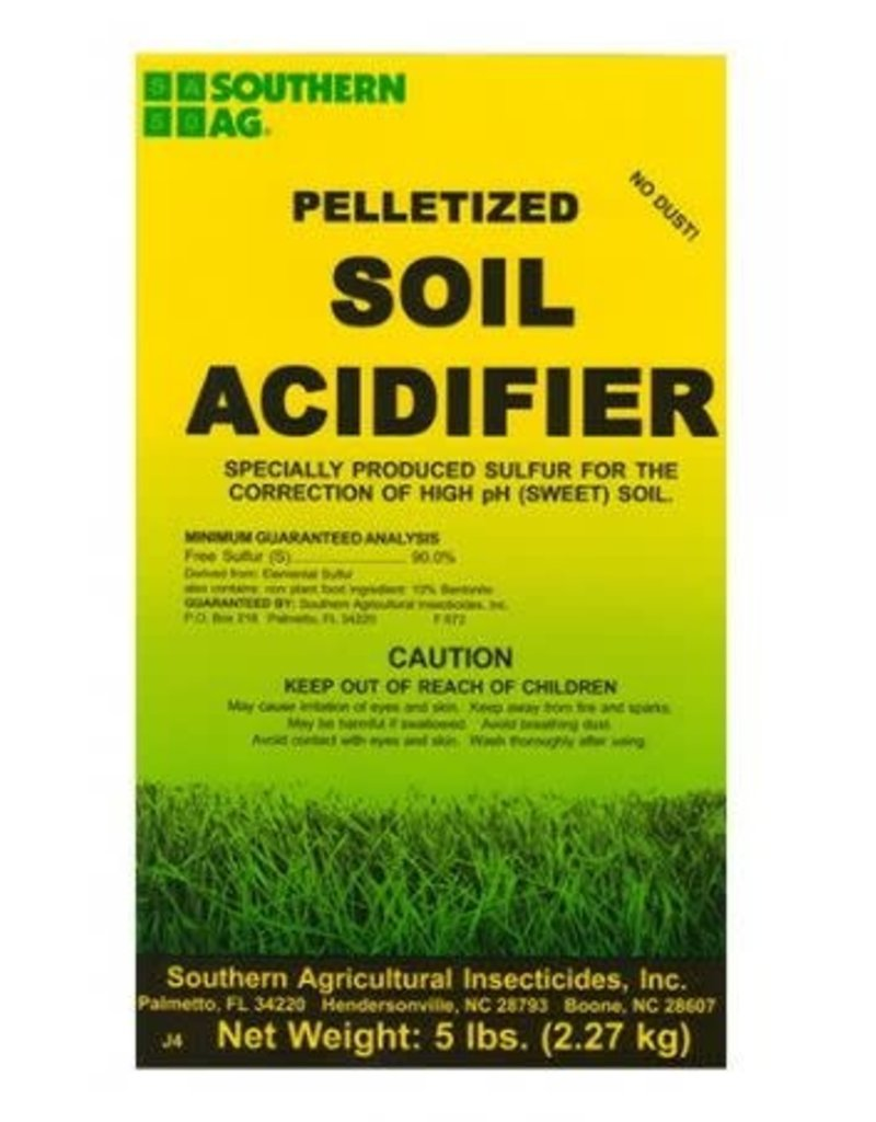 Sulfur Soil Acidifier