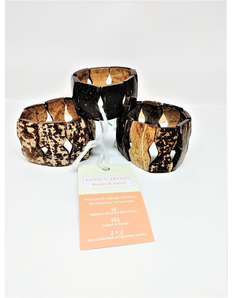 Bracelet - Coconut Shell, Haiti