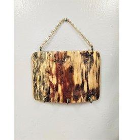 Wooden Key Holder - Nicaragua