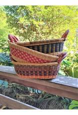 Bread basket, Ghana woven grass