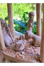 Wooden Nativity Creche