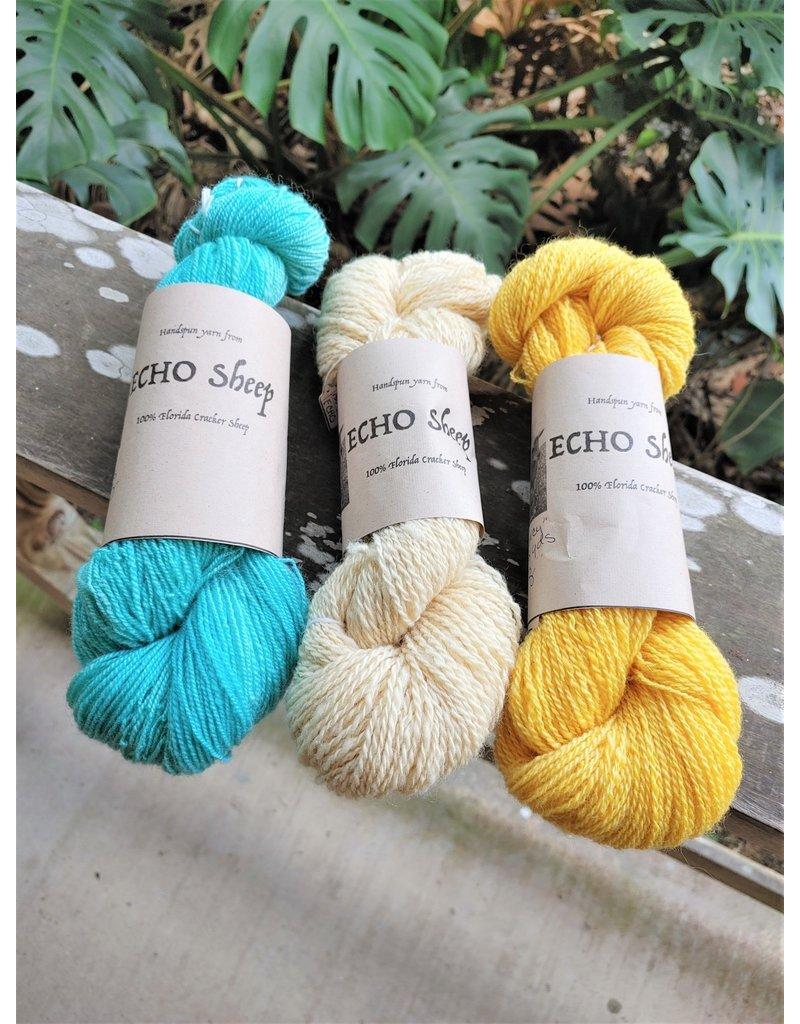 ECHO Wool Yarn, Medium Skein