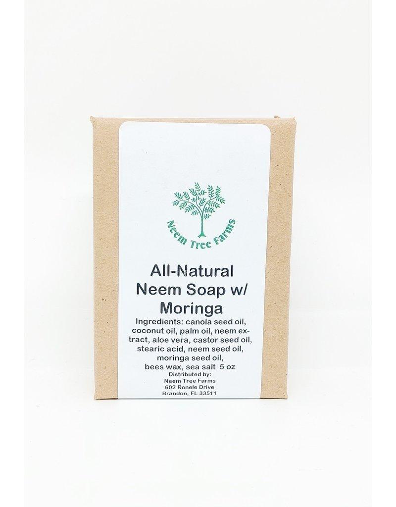 Neem Soap with Moringa