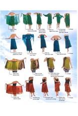 Sari Silk Wrap Short