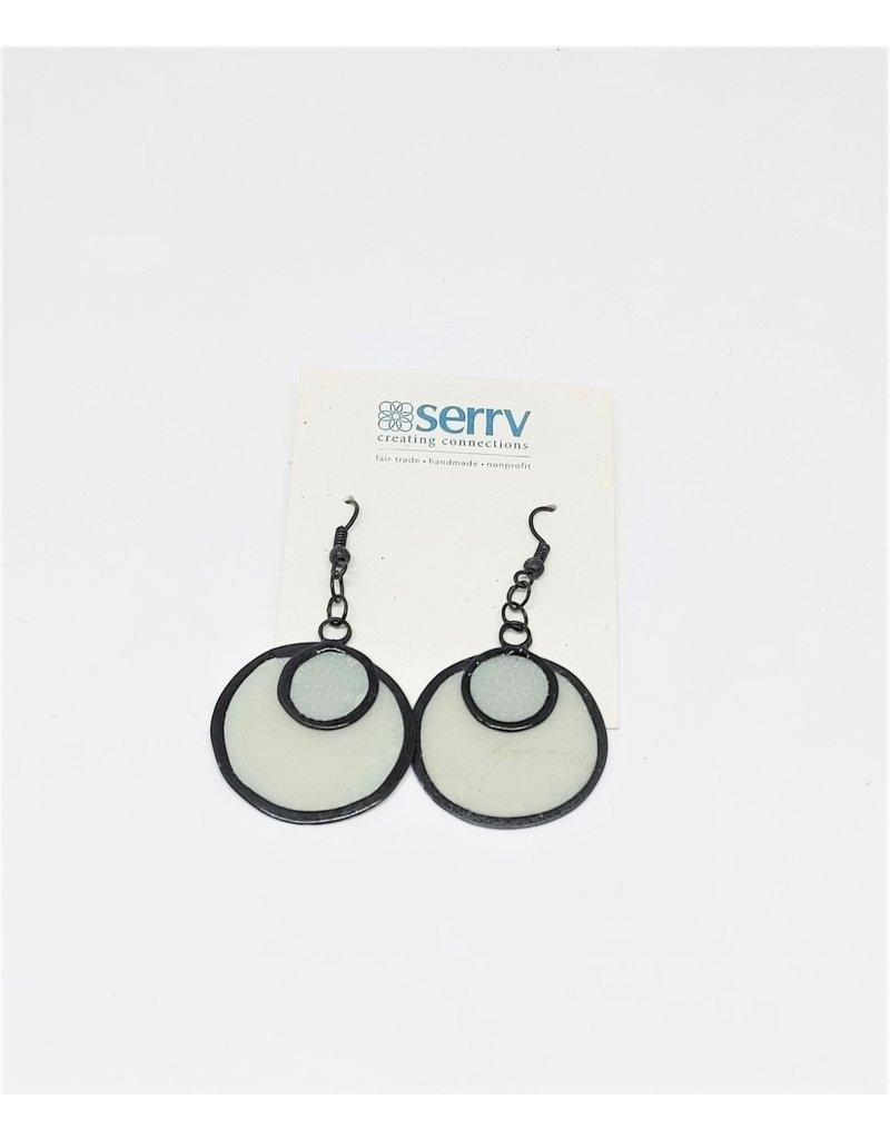 Earrings - Sibuyan Sea Capiz