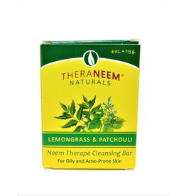 TheraNeem Neem Soap - Lemongrass and Patchouli