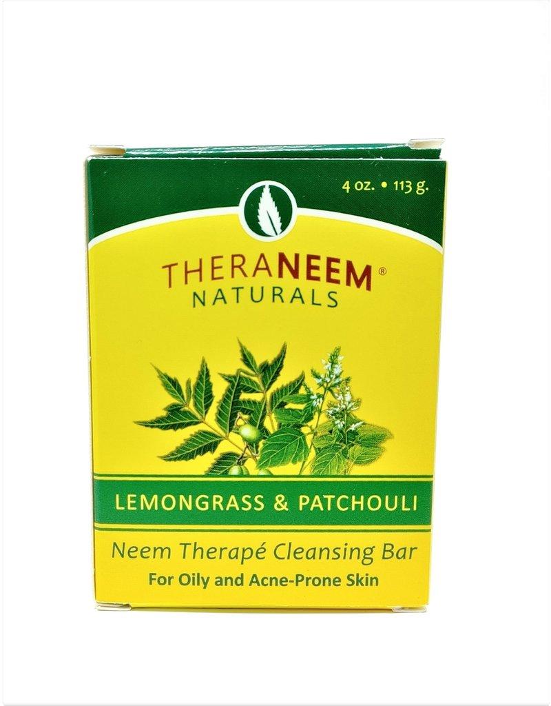 TheraNeem Neem Soap - Lemongrass and Patchouli