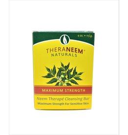 TheraNeem Neem Soap - Maximum Strength Sensitive Skin Neem Bar