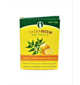 TheraNeem Neem Soap - Orange Ylang Ylang