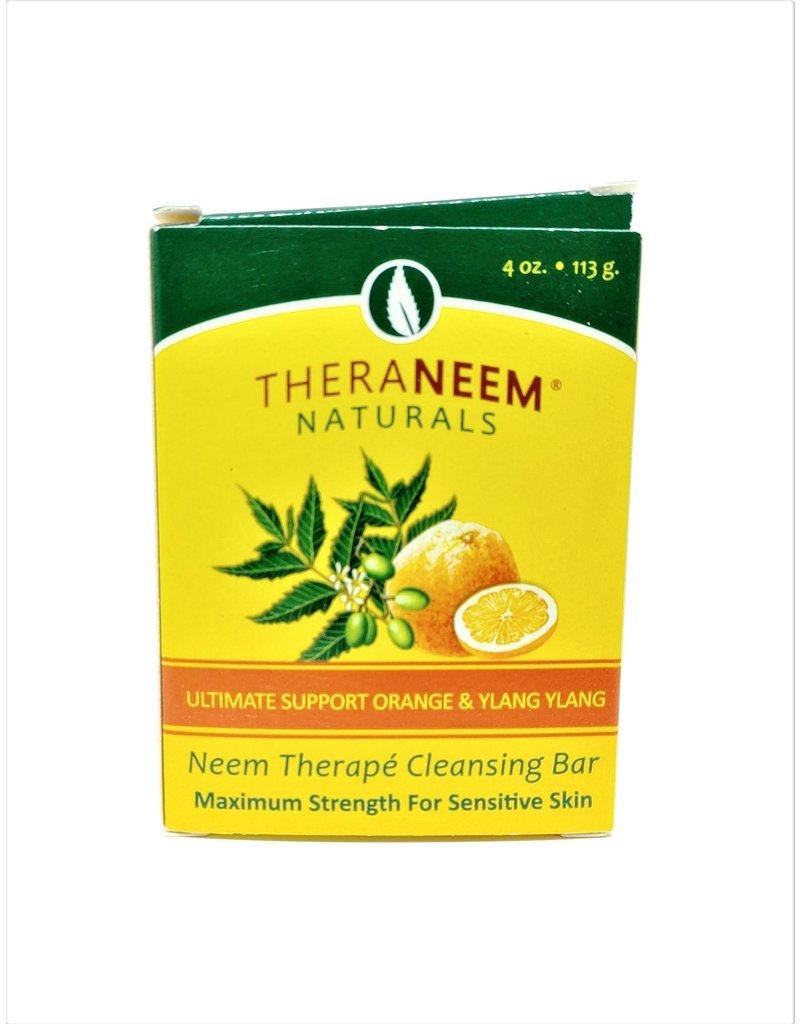 TheraNeem Neem Soap - Orange Ylang Ylang