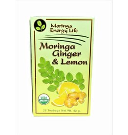 Moringa Tea - Ginger and Lemon