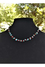 Necklace - Santa Ana, Red Cord