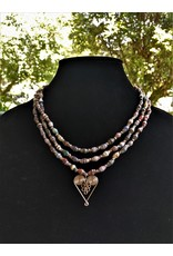 Necklace - Healing Hearts Statement