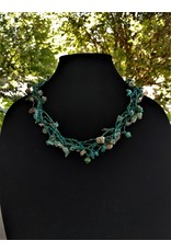 Necklace - Luzy Turquoise Guatemala