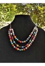 Necklace - Multistrand Colore